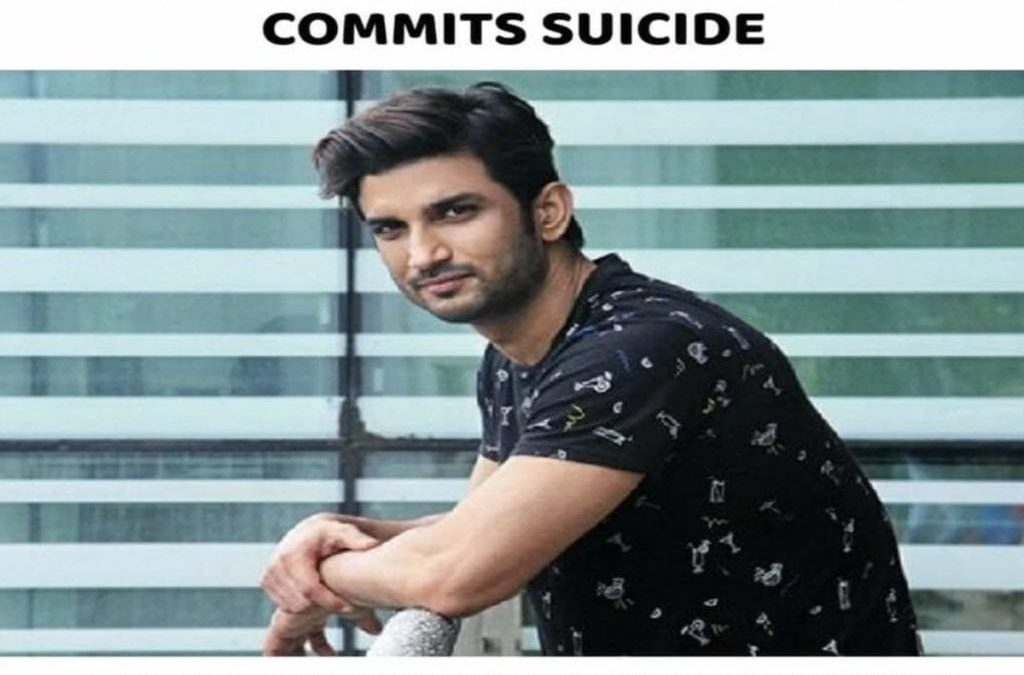 Sushant Singh Rajput- Bollywood actor commits suicide