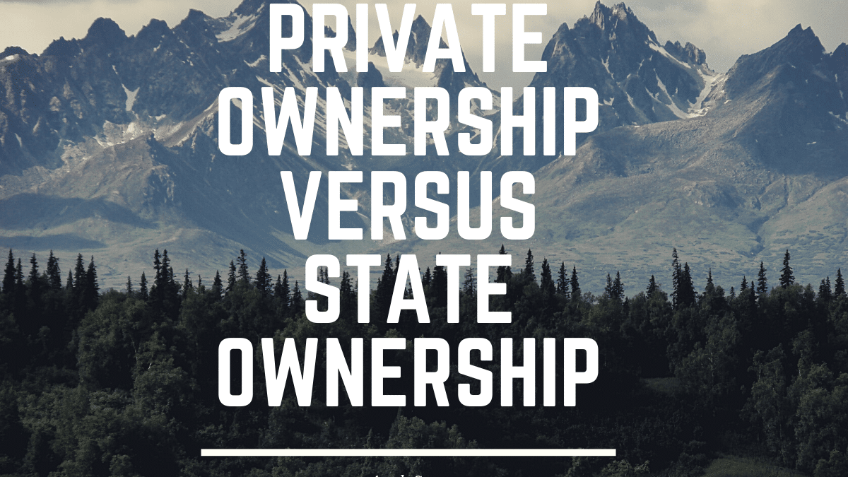 """Chapter 2, """"Private ownership versus State Ownership"""""""