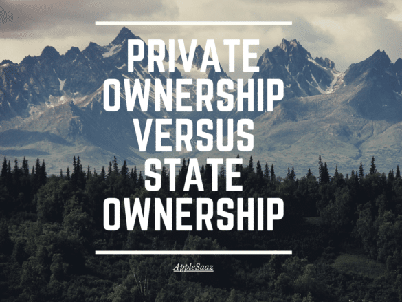 Private ownership versus State Ownership